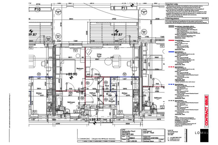 Bethersden Court, Maidstone – Construction