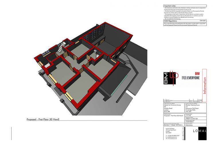 Quaker Meeting House - Tunbridge Wells - Construction