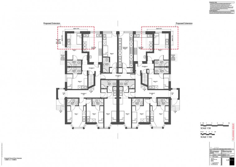Stanley Avenue, London – Planning