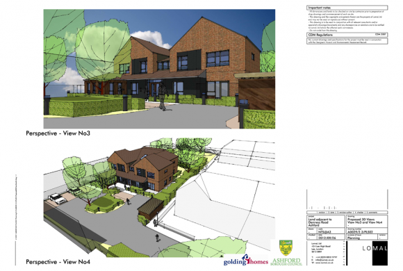 Rigden Road, Ashford – Planning