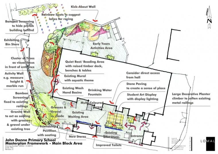 John Donne Primary School, London – New Playground