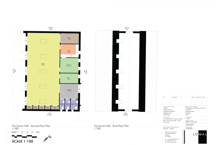 Scout Hut, Lark Rise, Crawley – Planning