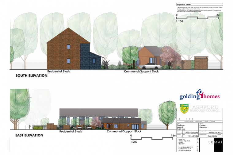 The Limes, Ashford – Planning