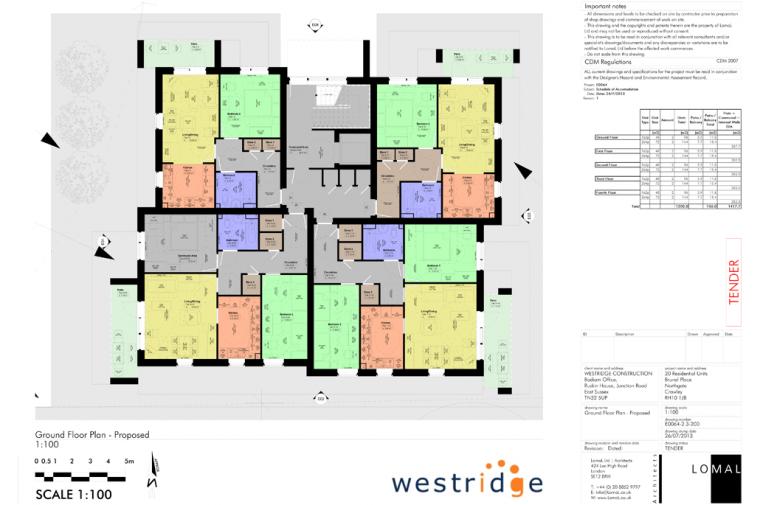 Brunel Place, Crawley – Feasibility Study