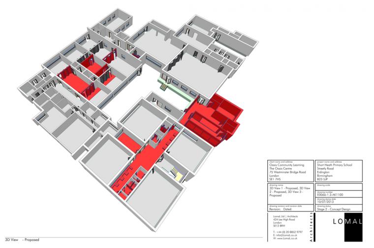 Oasis Academy Short Heath Primary School, Birmingham – Space Remodeling